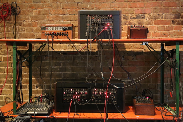 dial 1 800 moogfest on a synth made of vintage telephone parts the creators project. Black Bedroom Furniture Sets. Home Design Ideas