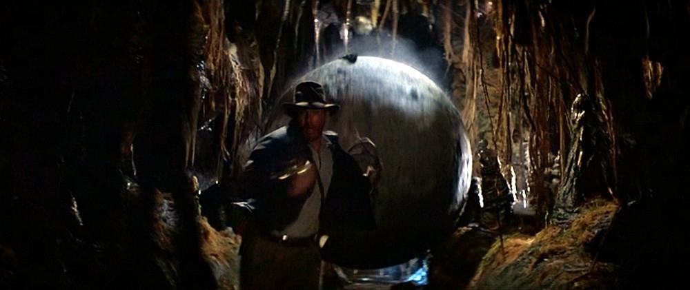 Image result for raiders of lost ark opening scene