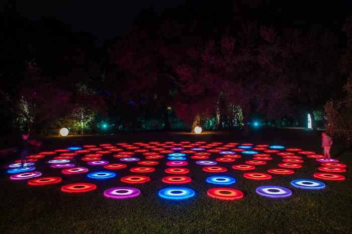 Even The Flowers Sing At This High Tech Botanical Garden