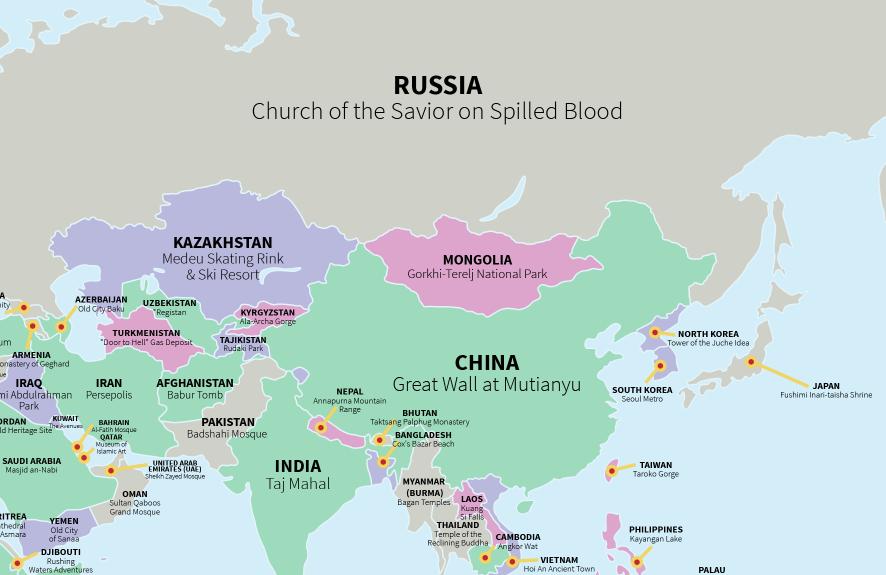 Mapa Atracción Turística