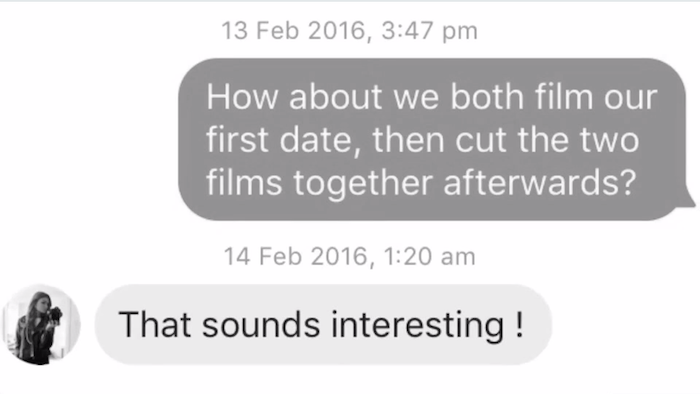 Two Artists Met on Tinder. What Happened Next Will Make Your Day