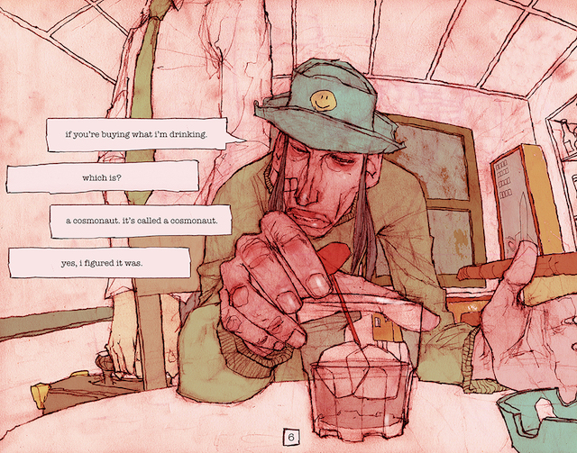 An Artist Is Sharing His Mysterious Graphic Novel One Panel at a Time