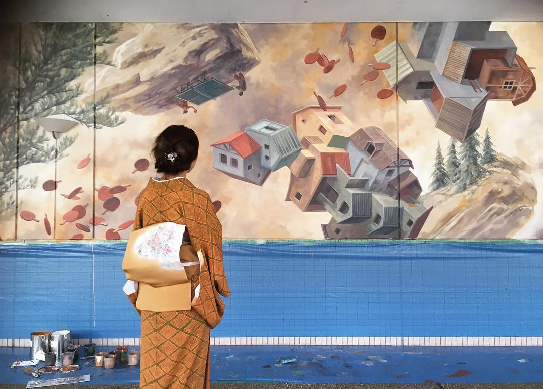 [Exclusive] Spanish Muralist Cinta Vidal Is Bending Minds in Japan
