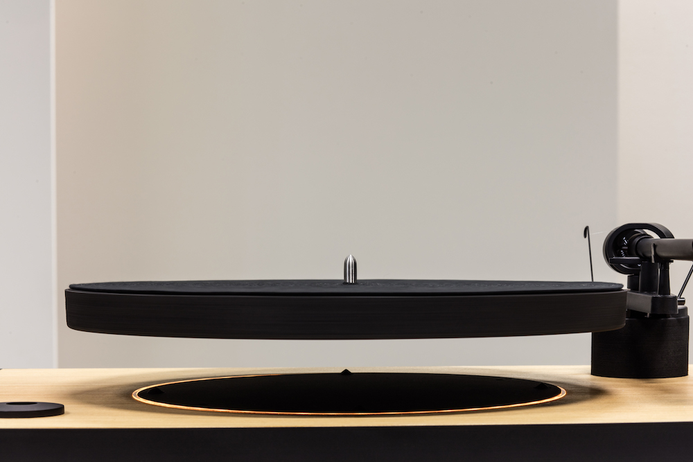 This levitating turntable gives uplifting music a whole new meaning