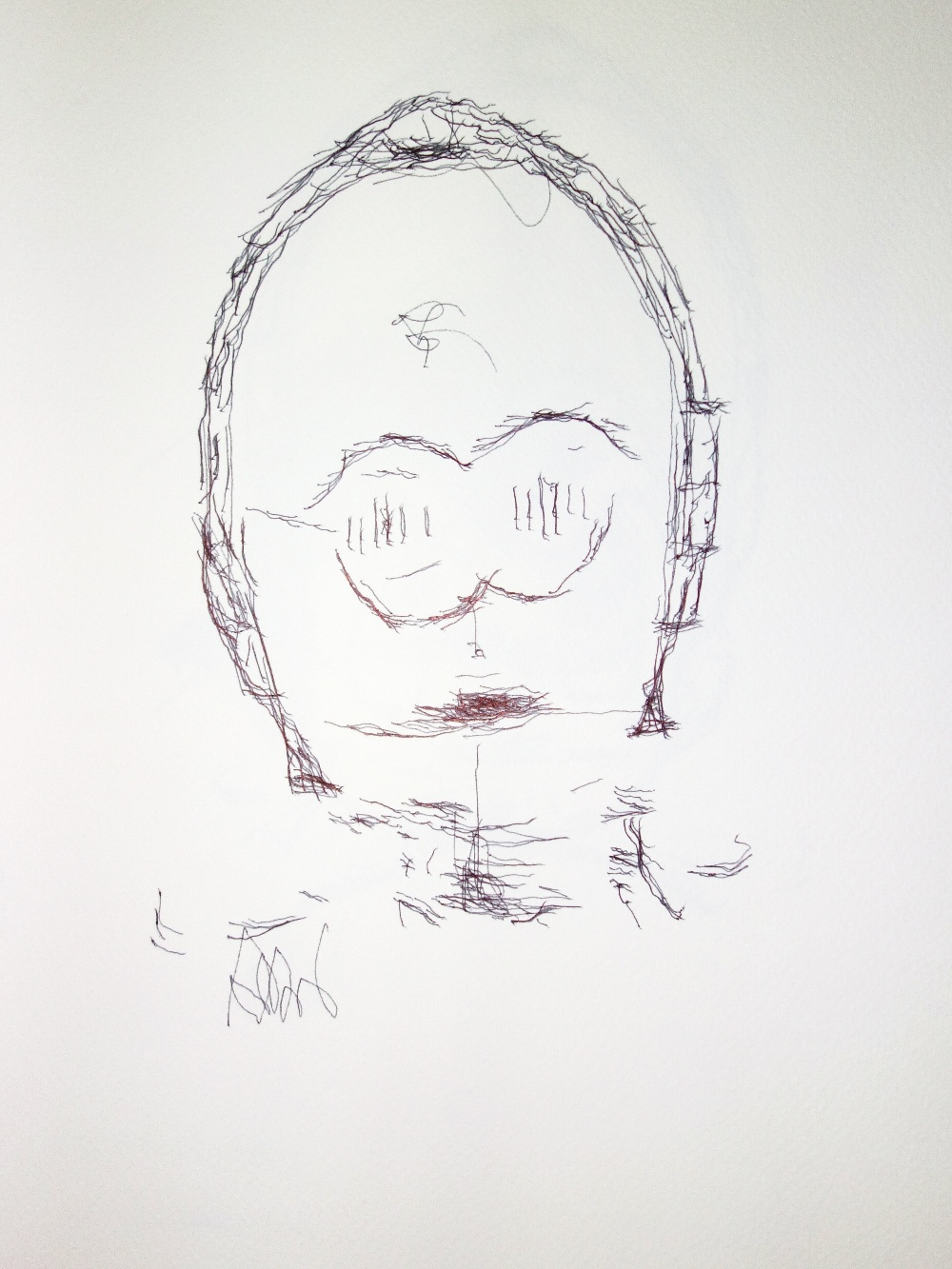 Robot Sketch Drawing Drawing Robot Sketches C-3po