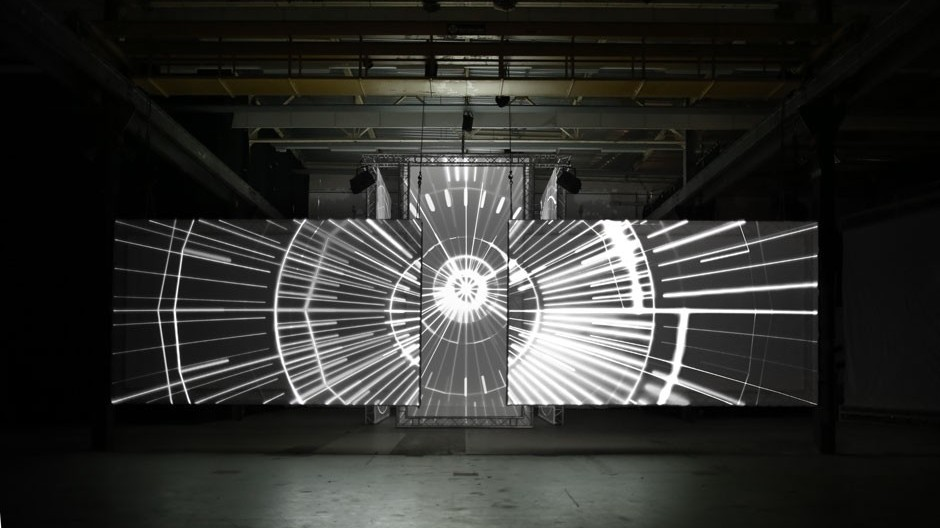 It's Void Vs. Structure in This Cosmic A/V Installation