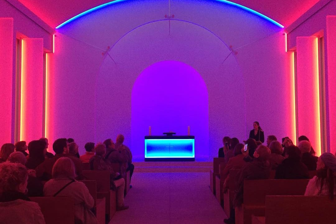 James Turrell Illuminates a Memorial Chapel in a Berlin Cemetery