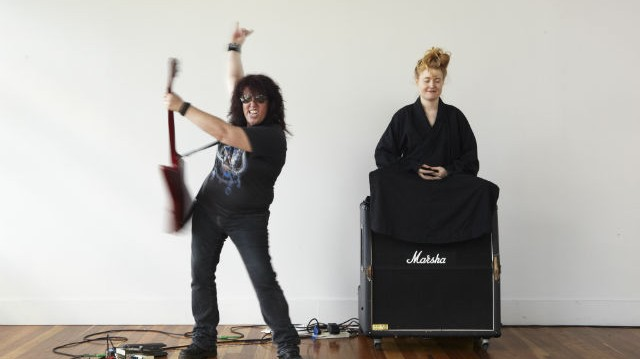 Australian Artist Nell Proves AC/DC Can Be Deeply Spiritual