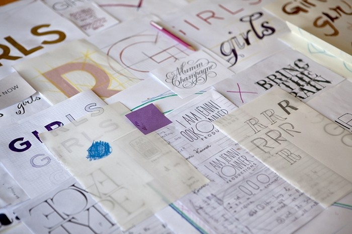 Designing the Visual Identity of 'Girls'