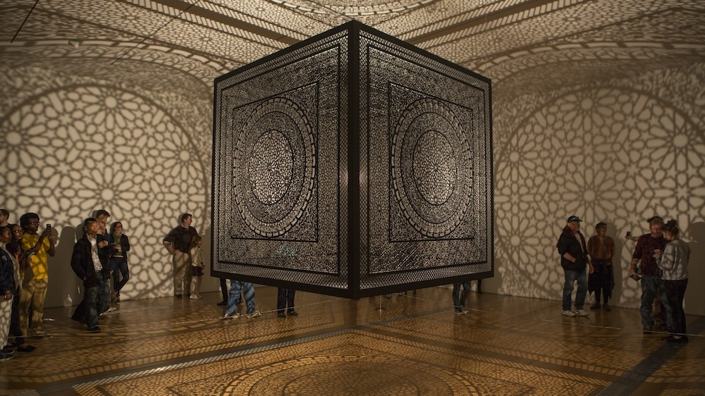 Anila Quayyum Agha Sheds Light on Her Laser-Cut Shadow Cube